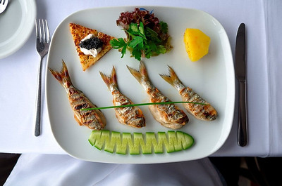 Grilled Fish in Istanbul